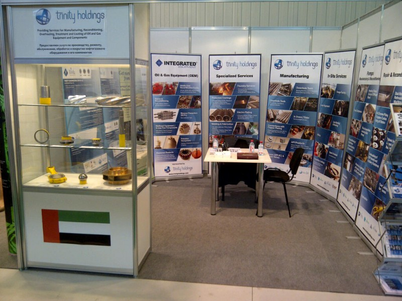 Trinity Holdings at Caspian Oil & Gas Exhibition